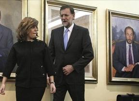 La imagen del día: El futuro y presente, el pasado se queda atrás (Rajoy, Soraya, Rubalcaba...)