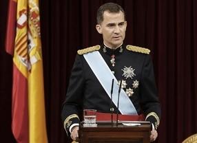 El primer mensaje navideño de Felipe VI podrá seguirse en Twitter
