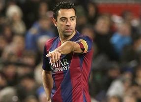 Xavi confirma su marcha del Barça: