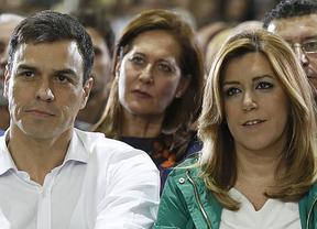 Pedro Sánchez también hace suyo el triunfo de Susana Díaz en Andalucía
