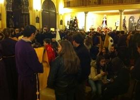 La lluvia da al traste con el inicio de la Semana Santa en Cuenca