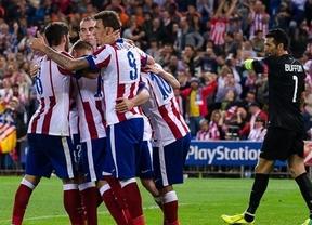 Arda apuntilla a la Juve con un gol de oportunista y relanza en Europa a un Atlético muy intenso (1-0)