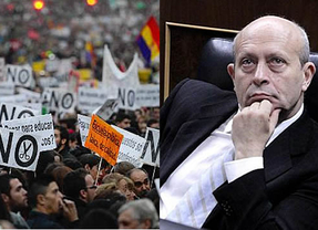 Guerra de opiniones por la huelga de educación, con más apoyos al Gobierno y críticas a los estudiantes y colectivos de izquierdas