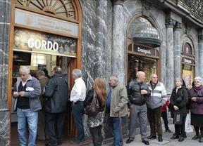 Los españoles 'sueñan Loterías' un 8% menos que en 2011