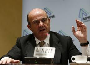 Guindos, optimista: 'La economía empezará 2015 creciendo por encima del 2%'