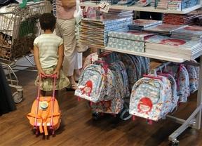 Llenar la mochila para el 'cole', un 17% más caro