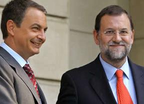Rajoy tomará el turrón en La Moncloa y Zapatero....en León