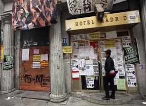 Fin de la 'okupación' del hotel Madrid... ¿o no?: amenazan con volver en pocas horas