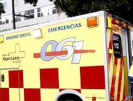 Un motorista se encuentra herido e inconsciente tras sufrir una caída en el Circuito de Velocidad de Cartagena