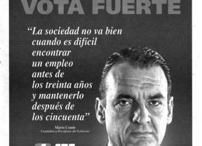 Mario Conde, del CDS al SCD, ¿batacazo en Galicia?