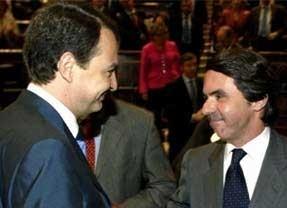 Cuando los extremos Aznar-Zapatero coinciden... o no