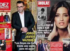 El hijo de Iker Casillas y Sara Carbonero, protagonista  en la prensa rosa