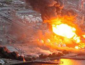 Una explosión en una de las plantas nucleares de Fukushima deja varios heridos