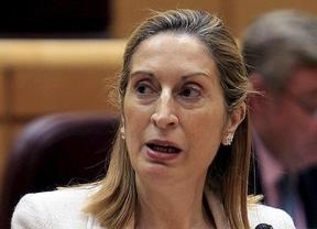 Ana Pastor confía en que el AVE llegue a Alicante en junio