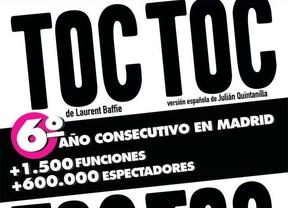 'Toc Toc', una comedia que resiste el paso del tiempo con la misma fuerza con la que se estrenó
