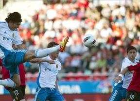 El Mallorca sentencia al Zaragoza y le complica su permanencia (1-0)