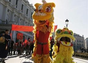 Madrid se llena de dragones con la llegada del Año Chino