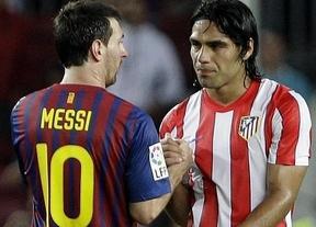 El Barça cuenta con Messi y el Atlético con Falcao, pese a tener ganadas las eliminatorias coperas