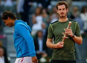 Murray se merienda con paliza incluida a un Nadal desconocido en el Mutua Open de Madrid (6-3, 6-2)