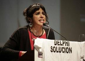 El 'subidón' de Podemos en el CIS andaluz no sacia la ambición de la candidata Teresa Rodríguez