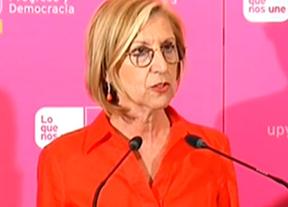 UPyD desaparece del mapa y Rosa Díez anuncia que no volverá a ser candidata