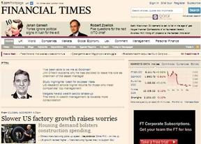 El 'Financial Times' vuelve a embestir a España... ¿en beneficio de quién?: aconseja sacar el dinero y llevárselo fuera de Europa