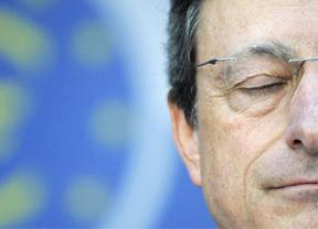 Draghi recomienda a Espa�a bajar impuestos y el gasto p�blico no productivo