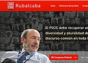 Rubalcaba se transforma para ofrecer el PSOE más abierto y combatir a Chacón