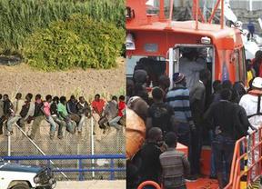Se agudiza el drama de la inmigración: más de 1.700 personas trataron de alcanzar España en Melilla y el Estrecho