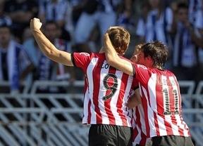 Llorente marca el tanto definitivo y le da al Athletic la victoria ante la Real (1-2)