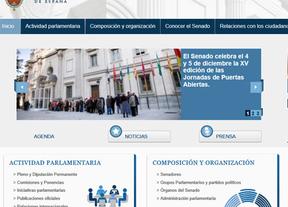 El Senado gasta casi 500.000 euros en una web llena de fallos