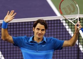 Federer, con un juego mucho más superior, derrota a Nadal (6-3, 6-4) en las semifinales del Wells