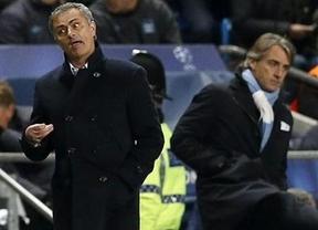 Escándalo en Manchester: el robo al Madrid hace explotar a Mourinho, que recuerda que la UEFA le censura