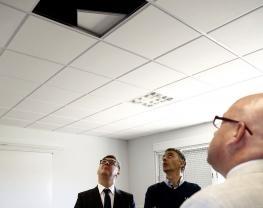 Se reanudan las clases en el instituto de Cebolla (Toledo) en el que se derrumbó el techo