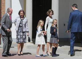 La Princesa de Asturias hace la primera comunión
