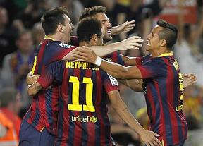 El Barça gana al Sevilla con polémica y un gol en el último minuto (3-2)