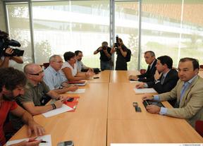 Tercera mesa de trabajo de los sindicatos de Teletech y las administraciones