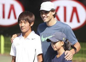 'Supernadal' ayuda a un joven sordo surcoreano que e suna gran promesa del tenis en su país