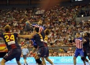 Liga Asobal: el Barça se impone al Atlético en Vistalegre y (casi) gana ya el título (22-25)