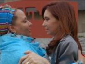 Piedad Córdoba le agradeció a Cristina su colaboración