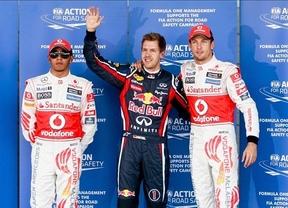Vettel se mete de lleno en la pole y Alonso saldrá cuarto desde Japón