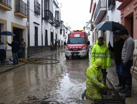 La ausencia de lluvia da una tregua a Écija
