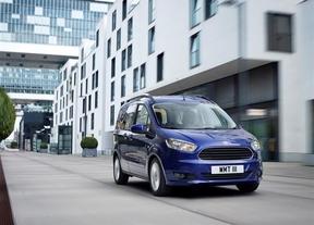 Ford lanza en primavera el nuevo Tourneo Courier, con un espacio de carga de 708 litros
