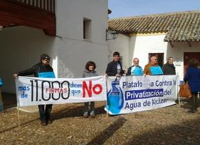 El alcalde de Alcázar impide con su voto de calidad un referéndum sobre la privatización del agua