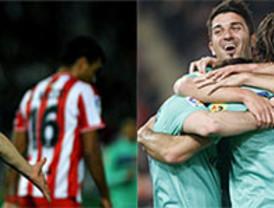 Supermessi, autor de tres goles, conduce al Superbarça a una paliza histórica ante el Almería (0-8)