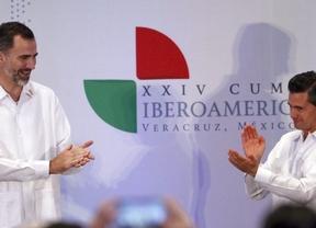 Felipe VI se estrena en Iberoamérica como Jefe de Estado: 'el paro es un problema que lastra el futuro de nuestros jóvenes'