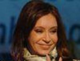 Cristina Fernández estrenó su traje de presidenta
