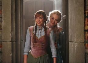 Las hermanas Anna y Elsa en la serie (ABC)