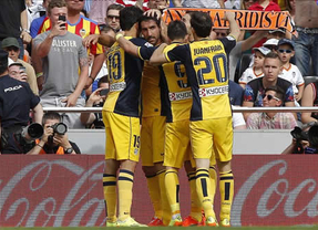 El Atlético sigue imparable hacia el título de Liga tras vencer 0-1 al Valencia