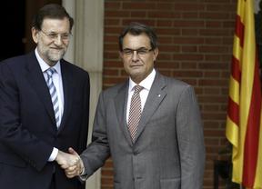 Rajoy visita Cataluña por primera vez tras el 'órdago' soberanista de Mas